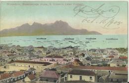 CAPE VERDE 1905 - VINTAGE POSTCARD  MINDELLO, WASHINGTON HEAD S.VICENTE CABO VERDE  SENT TO  ARGENTINA OCT 16,1905 STAMP - Cape Verde