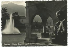 """1958, Rovereto - """"Piazza Rosmini Angolo Cassa Di Risparmio"""" - Trento - Trento"""