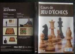 DVD Video : Cours De Jeu D'Echecs - Vol. 1 (détails Sur Photo Jointe) Editeur RBA - Dokumentarfilme