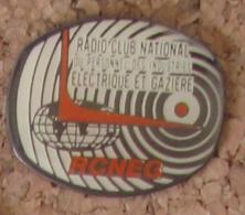Pin´s EDF GDF Radio RCNEG - EDF GDF