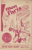 Mon Paris /Lucien Boyer /Vincent Scotto/Salabert/  1925    PART59 - Partitions Musicales Anciennes