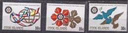 CookIslands1980:ROTARY CLUB Michel663-5mnh** - Rotary, Lions Club