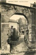 Carrieres Sur Seine - La Rue Et Porte De Ferme - Carrières-sur-Seine