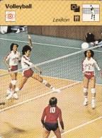 VOLLEYBALL-VOLEIBOL-VOLEY -BALONVOLEA, Trading Card, MNH, 16x12cm, 1977-79 Ed. Rencontre, S.A., Lausanne - Volleyball