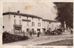 63 - SAINT REMY DE CHARGNAT - PLACE DU PONT  - Edt Rouvet N°8 - Altri Comuni