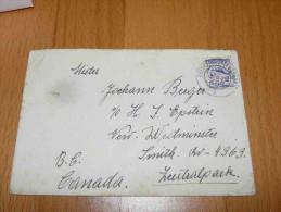 Oberberg-Eisenstadt Austria Österreich Kismarton Magyarország Hungary Canada Zentralpark Umschlag 1929 - 1918-1945 1st Republic