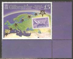 Gibraltar 2005 Mi# 1138 ** MNH - Europa Stamps, 50th Anniv. - Gibraltar