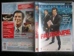 DVD Video : FAUSSAIRE De Lasse HALLSTRÖM Avec Ruchard GEERE Fiction - Action & Abenteuer