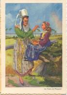 CPSM - ILLUSTRATION E.GUILLAUME - EN BRETAGNE - Les Fraises De Plougastel - Edition Jansol /N°10 - Guillaume