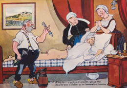 HUMOUR MEDECINE IVROGNE VIN DE SANCERRE 1965 TRES BON ETAT ! ! ! - Postcards