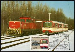 ÖSTERREICH 1989 - Elektrische Eisenbahn ET 46 Und ET 71 - Sonderausgabe - Trenes
