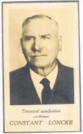 MOEN - CRESTOT - DOODSPRENTJE Van Constant LONCKE + 1942 - Images Religieuses
