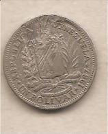 Venezuela - Moneta Circolata Da 1Bolivar - 1967 - Venezuela