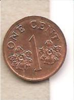 Singapore - Moneta Circolata Da 1 Centesimo - 1994 - Singapore