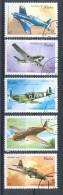 I023 TRANSPORT VLIEGTUIGEN MILITARY PLANES FLUGZEUGE CUBA 1995 Gebr / Used - Avions