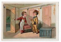 Chromo Calendrier 1899 Pour Depagne, Brest - Kaufmanns- Und Zigarettenbilder