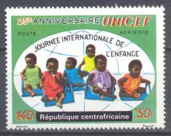 Centrafricaine République Poste Aérienne YT N°97 UNICEF Neuf/charnière * - Centrafricaine (République)