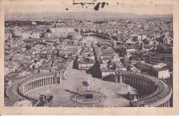 PC Roma - Panorama Visto Dalla Cupola Di S. Pietro - 1925 (9560) - Mehransichten, Panoramakarten
