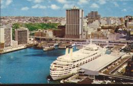 Cpsm Australia, Sydney , Circular Quay, Harbour, Paquebots - Sydney