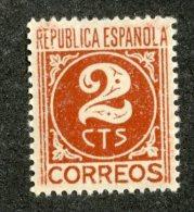 A-90  Spain 1936  Scott #640* *  Offers Welcome! - 1931-Hoy: 2ª República - ... Juan Carlos I