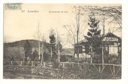 Cp, Commerce, LOurdes (65) - Restaurant Du Lac, Voyagée 1906 ? - Restaurants
