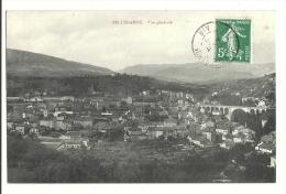 Cp, 01, Bellegarde, Vue Générale, Voyagée - Bellegarde-sur-Valserine
