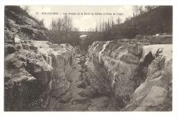 Cp, 01, Bellegarde, Les Gorges De La Perte Du Rhône Et POnt De Luçay - Bellegarde-sur-Valserine