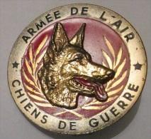 Insigne de Maitre Chien des Fusilliers Commando de l'Air, chiens de guerre