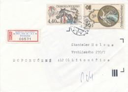 Czech Rep. / Occasional R- Label (1993/01) Straznice: Joint Congress Of The Czech & German Esperanto Association (I7872) - Esperanto