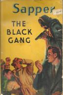 SAPPER - THE BLACK GANG -  1953 UK HODDER YELLOW JACKET PAPERBACK 191 PAGES