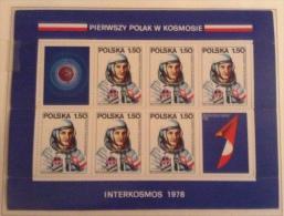 Poland MNH 1978 Mi B70 - Blocchi E Foglietti