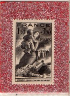 FRANCE  --  VICTIMES  DES  BOMBARDEMENTS   --  **  1.50 F + 3.50 F.. **  --  POSTE  1943  --  NEUF - Unused Stamps