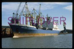 diapositive authentique cargo NODNI RIVER (r�f. D04551) - ship 35 mm photo slide - bateau/ship/schiff