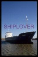 diapositive authentique cargo TORNE (r�f. D04636) - ship 35 mm photo slide - bateau/ship/schiff