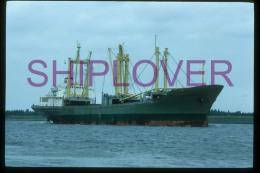 diapositive authentique cargo ERIKA NABER (r�f. D04657) - ship 35 mm photo slide - bateau/ship/schiff
