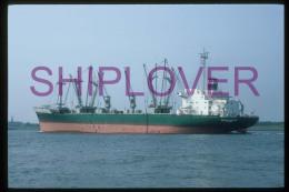 diapositive authentique cargo BERTRAM RICKMERS (r�f. D04664) - ship 35 mm photo slide - bateau/ship/schiff