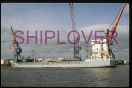 diapositive authentique cargo FLINTERMAS (r�f. D04678) - ship 35 mm photo slide - bateau/ship/schiff