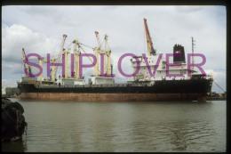 diapositive authentique cargo MONTAN (r�f. D04684) - ship 35 mm photo slide - bateau/ship/schiff