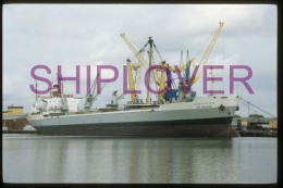 diapositive authentique cargo IBN SHUHAID (r�f. D04696) - ship 35 mm photo slide - bateau/ship/schiff