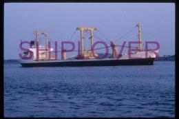 diapositive authentique cargo VITALI II (r�f. D04701) - ship 35 mm photo slide - bateau/ship/schiff