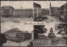D-08056 Zwickau - Alte Ansichten - Hauptbahnhof - Zwickau