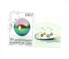 948      Perle     Bord De Feuille   (pag1) - Polynésie Française