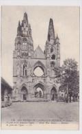 SOISSONS - GUERRE 1914 - 1918 - N° 518 - LES RUINES - FACADE DE ST JEAN DES VIGNES - Soissons