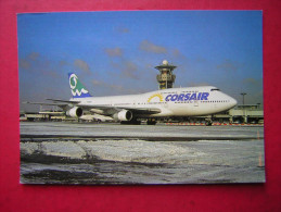 CPM    CORSAIR    BOEING 747.300 ( F GSUN ) PARIS ORLY    VOYAGEE  1996 - 1946-....: Moderne