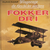 FOKKER DRI AVIATION ALLEMANDE GUERRE 1914 1918 AVION TRIPLAN PIONNIER AS CHASSE