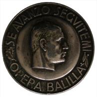 """Distintivo Badge Opera Balilla """"Se Avanzo Seguitemi"""" #MD4144"""