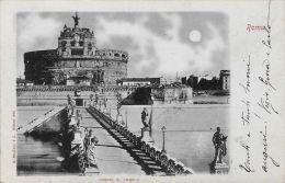 [DC5787] CARTOLINA - ROMA - CASTEL SANT'ANGELO - Viaggiata - Old Postcar - Castel Sant'Angelo