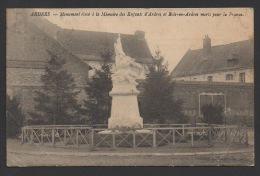 DF / 62 PAS DE CALAIS / ARDRES / MONUMENT A LA MEMOIRE DES ENFANTS D´ARDRES ET BOIS-EN-ARDRES MORTS POUR LA FRANCE /1924 - Ardres