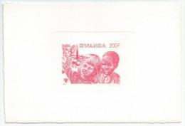 Rwanda - COB LX945Tir� � Part - MNH / ** 1979 - No�l / Enfance