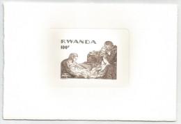 Rwanda - COB LX789 Tir� � Part - MNH / ** 1976 - No�l
